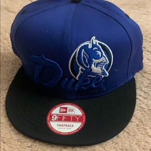 NWT NCAA Duke Blue Devils SnapBack New Era hat